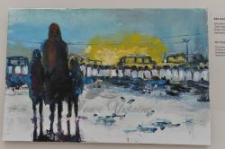 Виставка живопису  Івана Пішти «Революція Гідності. Спогади на полотні» у торговому центрі «Глобус».