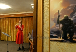 Римма Товкайло, філолог за освітою, презентувала у Національному музеї літератури України книгу «Простір прихованого. Нотатки з військового шпиталю».