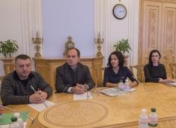 Зустріч Голови Верховної Ради України Андрія Парубія з представниками волонтерських організацій.