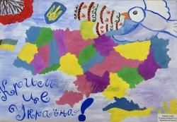 Громадські організації «Кримська Громада» та  «Об'єднання Добровольців» (м.Чернігів) презентували у Верховній Раді України виставку дитячих малюнків «Мій Крим».