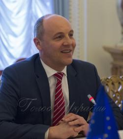 Зустріч Голови Верховної Ради України Андрія Парубія з делегацією Комітету Європейського Парламенту у закордонних справах.