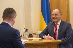 Голова Верховної Ради України Андрій Парубій в інтерв'ю телеканалу РАДА.