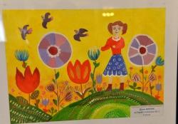 Відкриття експозиції у ВР «Щаслива дитина – квітуча Україна».