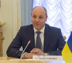 Зустріч Голови Верховної Ради України Андрія Парубія з делегацією Комітету у закордонних справах Великих Національних Зборів Турецької Республіки.