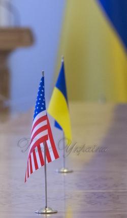 Зустріч Голови Верховної Ради України Андрія Парубія з Директором Євразійського центру ім. Діну Патрісіу Атлантичної ради Джоном Хербстом.