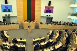 Голова Верховної Ради України Андрій Парубій здійснив візит до Литовської Республіки. Участь Парубія в урочистому засіданні Сеймасу Литовської Республіки