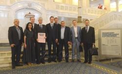 Відбулося урочисте закриття виставки «Сучасна пряма демократія» за участю Надзвичайного і Повноважного Посла Швейцарії в Україні пана Гійома Шойрера.