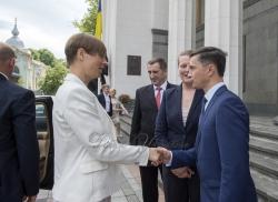 Зустріч Голови Верховної Ради України Андрія Парубія з Президентом Естонської Республіки Керсті Кальюлайд