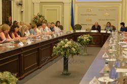 Комітет Верховної Ради України з питань соціальної політики, зайнятості та пенсійного забезпечення провів засідання «круглого столу» на тему: «Соціальний захист сімей з дітьми».