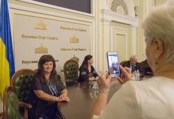 Голова Верховної Ради Андрій Парубій вручив відзнаки Українського парламенту працівникам сфери освіти та молодим вченим