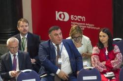 Відкриття круглого столу «Співпраця задля процвітання - стратегія наступного століття»  за участі Президента, Голови Парламенту, МЗС Грузії та Глав іноземних делегацій.