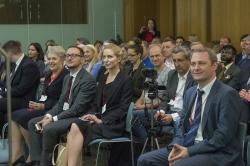 Голова Верховної Ради Андрій Парубій перебуває з візитом у Сполученому Королівстві Великої Британії та Північної Ірландії. Публічний захід у приміщенні Парламенту Великої Британії