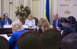 Напередодні 20-го ювілейного Саміту Україна-ЄС Голова Верховної Ради України Андрій Парубій взяв участь у обговоренні стану виконання Україною та ЄС Угоди про асоціацію