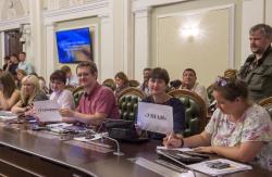 Підсумкова прес-конференція Голови Верховної Ради України Андрія Парубія