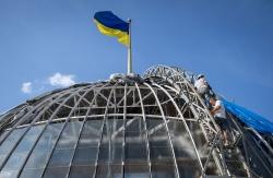Реконструкція купола на будівлі Верховної Ради України