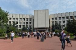 В Інституті міжнародних відносин Київського національного університету імені Тараса Шевченка відбулася посвята у студенти.