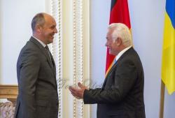 Зустріч Голови Верховної Ради України Андрія Парубія з Віце-президентом Німецького Бундестагу Вольфгангом Кубікі.