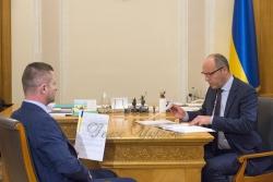 Інтерв'ю  Голови Верховної Ради України Андрія Парубія телеканалу