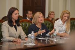 У Парламенті відбулося засідання неформальної групи «Мінська платформа».