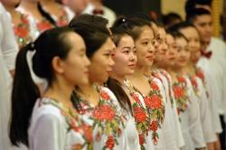 Офіційний прийом з нагоди 69-ої річниці заснування Китайської Народної Республіки.