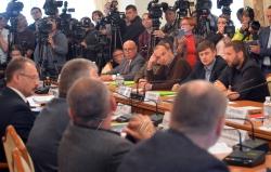 Комітет Верховної Ради України з питань запобігання і протидії корупції провів засідання на якому заслухали звіт директора національного антикорупційного бюро України Артема Ситника