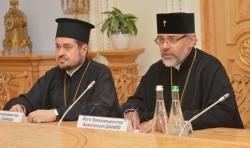 Зустріч Голови Верховної Ради України Андрія Парубія з Екзархами Вселенського Патріарху в Україні