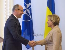 Зустріч Голови Верховної Ради України Андрія Парубія з Президентом Парламентської асамблеї НАТО Расою Юкнявічєнє