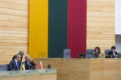 Участь Голови Верховної Ради України Андрія Парубія у пленарному засіданні Сейму Литовської Республіки