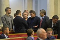 Позачергове засідання Верховної Ради України щодо введення воєнного стану. Вечірне засідання.
