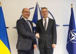 Зустріч Голови Верховної Ради України Андрія Парубія з Генеральним Секретарем НАТО Єнсом Столтенбергом