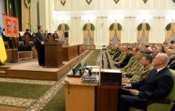 В Міністерстві оборони України відбулися урочисті заходи з нагоди святкування 27-ї річниці Збройних Сил України.