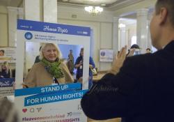 Голова Верховної Ради України Андрій Парубій взяв участь у відкритті тематичних заходів з нагоди 70-ї річниці проголошення Загальної декларації прав людини