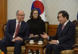 Зустріч з Прем'єр-міністром Республіки Корея Лі Нак-Йон