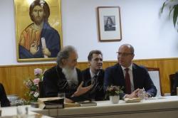 Зустріч з Митрополитом Корейської православної церкви Амвросієм (член Синоду Вселенського патріархату)