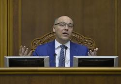 Голова Верховної Ради Андрій Парубій привітав працівників парламентського апарату з прийдешнім Новим 2019-м роком та Різдвом