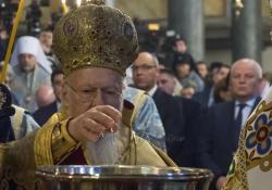 Церемонія вручення Томосу. Божественна Літургія (Спільне відправлення Вселенським Патріархом Варфоломієм і Митрополитом Епіфанієм)