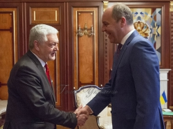 Зустріч Андрія Парубія з Послом Республіки Польша Яном Пєклом.