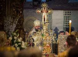 Церемонії інтронізації предстоятеля ПЦУ Епіфанія