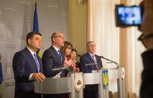 Спільний вихід до преси у Верховній Раді України