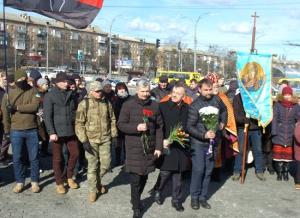 Вшанування пам'яті Олени Теліги у Бабиному Яру
