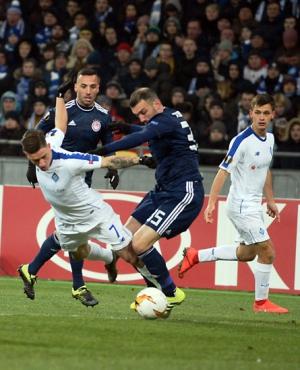 1/16 фіналу Ліги Європи з футболу,