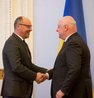 Зустріч Андрія Парубія з Президентом ПА ОБСЄ Георгієм Церетелі