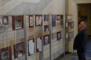 Виставка у ВР про композитора Володимира Івасюка.