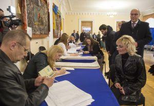 Голова Верховної Ради України Андрій Парубій взяв участь у першому турі виборів Президента України