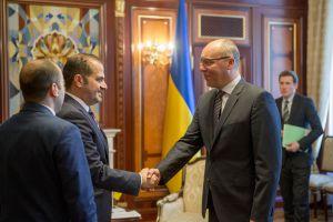 Голова Верховної Ради України Андрій Парубій зустрівся з Надзвичайним і Повноважним Послом держави Катар в Україні Гаді Аль-Гаджрі