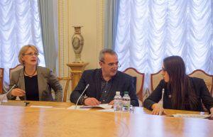 Засідання Робочої групи з підготовки роботи освітнього центру у ВР України.