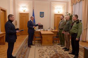 Андрій Парубій вручив грамоти «За заслуги перед Українським народом».