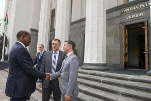 Зустріч А. Парубія з Головою Національної Асамблеї Парламенту Республіки Кенія Джастіном Мутурі