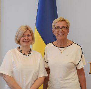 Зустріч Ірини Геращенко з делегацією Парламенту Королівства Швеція