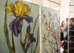 Презентація виставки живопису «Квіти для мами» художниці Ольги Бартиш